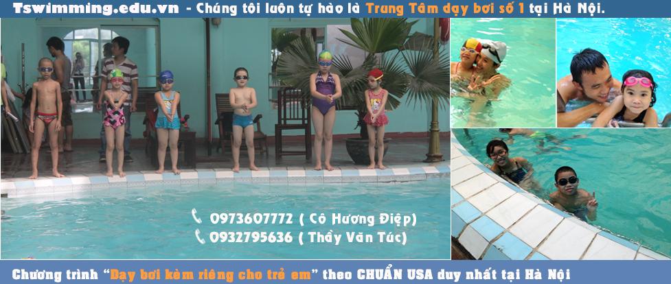 Tswimming - Trung tâm dạy học bơi người lớn, trẻ em.